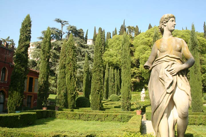 Un jardin l 39 italienne a guide in verona for B b giardino giusti verona